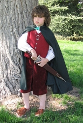 Jacob as Frodo